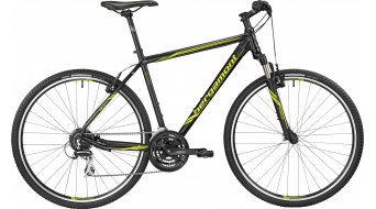 Bergamont Helix 3.0 Gent 28 Hybrid bike black/lime (matt)