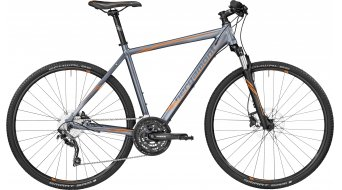 Bergamont Helix 7.0 28 Hybrid bike titanium grey/orange (matt) 2017