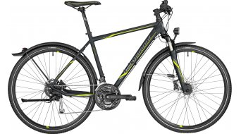 Bergamont Helix 6.0 EQ Gent 28 Hybrid bike black/lime (matt/shiny)
