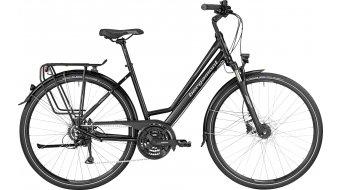 Bergamont Sponsor Disc Amsterdam 28 trekking bici completa Unisex mis. 48cm black/silver (opaco) mod. 2017