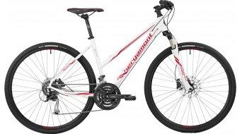 Bergamont Helix 5.0 Lady 28 Hybrid bici completa Señoras-rueda tamaño 52cm blanco/rojo (color apagado) Mod. 2017