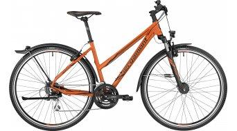 Bergamont Helix 4.0 EQ Lady 28 Hybrid Komplettbike Damen-Rad orange/black (matt) Mod. 2017