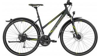 Bergamont Helix 6.0 EQ Lady 28 Hybrid Komplettbike Damen-Rad black/lime (matt/shiny) Mod. 2017