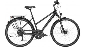 Bergamont Sponsor Disc Lady 28 Trekking Komplettbike Damen-Rad black/silver (matt) Mod. 2017