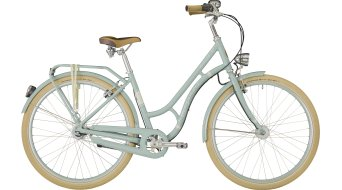 "Bergamont Summerville N7 FH 28"" City bici completa mis. 48cm ice blue/cream white (shiny) mod. 2018"