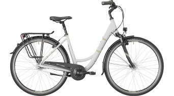 "Bergamont Belami N7 28"" City Komplettbike pearl white/light brown (matt) Mod. 2018"