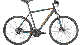 "Bergamont Helix 5.0 Gent 28"" Hybrid bike Gr. dark silver/petrol/orange (mat) model 2018"