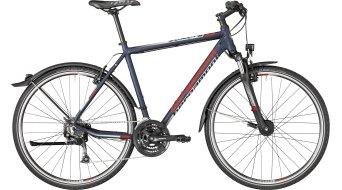 "Bergamont Helix 4.0 EQ Gent 28"" Hybrid Komplettbike dark bluegrey/grey/red (matt) Mod. 2018"