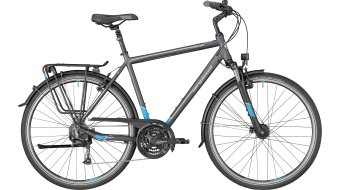 "Bergamont Horizon 3.0 Gent 28"" trekking bici completa . grey/cyan/white (opaco) mod. 2018"