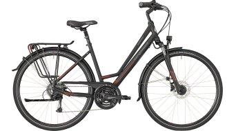 "Bergamont Horizon 4.0 Amsterdam 28"" trekking bici completa . black/red/grey (opaco) mod. 2018"