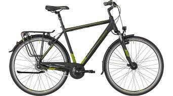 "Bergamont Horizon N8 CB Gent 28"" trekking bici completa . black/ogiva (opaco) mod. 2018"