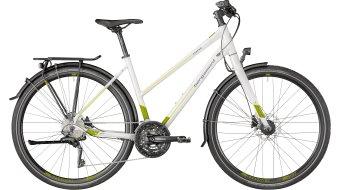 """Bergamont Vitess 7.0 Lady 28"""" trekking bike damesfiets Gr. white/green/lime (shiny) model 2018"""