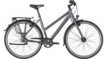 "Bergamont Vitess N8 FH Lady 28"" trekking bike damesfiets Gr. grey/dark grey/black (mat) model 2018"