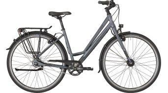 "Bergamont Vitess N8 FH Amsterdam 28"" trekking bike grey/dark grey/black (matt) 2018"