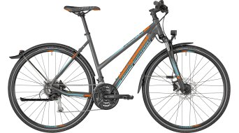 "Bergamont Helix 6.0 EQ Lady 28"" Hybrid bici completa Señoras-rueda dark gris/coral azul/naranja (color apagado) Mod. 2018"