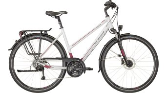 "Bergamont Horizon 4.0 Lady 28"" Trekking Komplettbike Damen-Rad white/red/grey (shiny) Mod. 2018"
