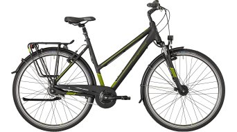 "Bergamont Horizon N8 CB Lady 28"" trekking bike ladies version size 48cm black/olive (matt) 2018"