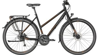 "Bergamont Vitess 6.0 Lady 28"" Trekking Komplettbike Damen-Rad black/brown/grey (matt) Mod. 2018"