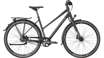 """Bergamont Vitess N8 Belt Lady 28"""" trekking vélo femmes-roue taille black/dark argent (matt) Mod. 2018"""
