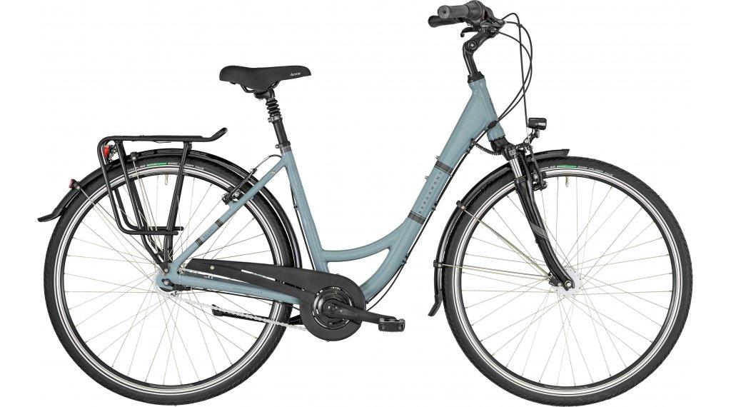 "Bergamont Belami N7 blue 28"" City 整车 型号 48厘米 ice blue/cream white (shiny) 款型 2019"