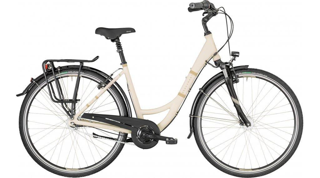 "Bergamont Belami N7 white 28"" City 整车 型号 48厘米 pearl white/light brown (matt) 款型 2019"