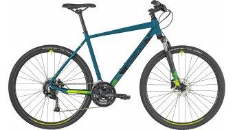 "Bergamont Helix 3.0 Gent 28"" Hybrid bici completa cm dark petrol/negro/verde (color apagado) Mod. 2019"