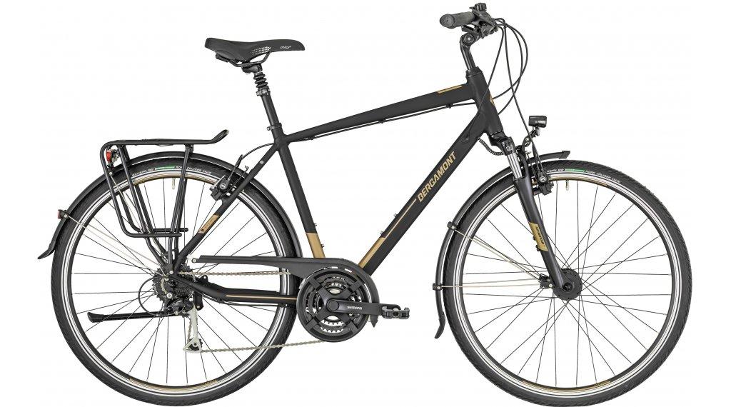 """Bergamont Horizon 5.0 Gent 28"""" Trekking 整车 型号 48厘米 black/金色 brown/金色 (matt) 款型 2019"""