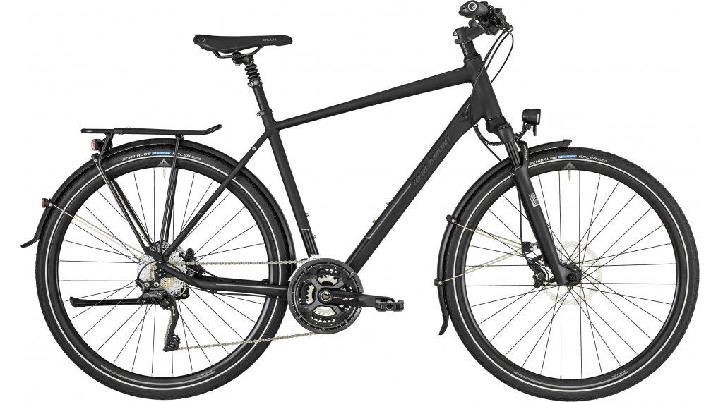 "Bergamont Horizon 9.0 Gent 28"" trekking bici completa mis. 52 cm black/dark grey (opaco/shiny) mod. 2019"