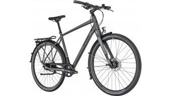 "Bergamont Vitess N8 Belt Gent 28"" Trekking 整车 型号 48厘米 dark grey/black/grey (matt/shiny) 款型 2019"