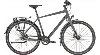 "Bergamont Vitess N8 FH Gent 28"" trekking bike cm dark grey/black/red (matt) 2019"