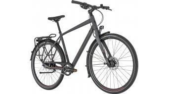 """Bergamont Vitess N8 FH Gent 28"""" Trekking 整车 型号 48厘米 dark grey/black/red (matt) 款型 2019"""