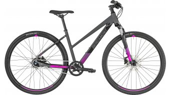 "Bergamont Helix N8 Lady 28"" Hybrid bike ladies version cm dark grey/black/pink (matt) 2019"