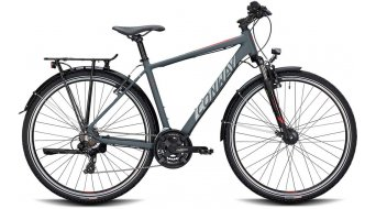 "Conway TS 300 28"" Trekking komplett kerékpár Méret S anthracite/red 2020 Modell"