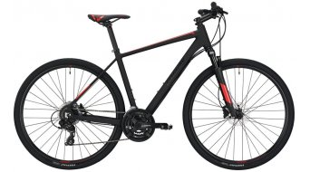 "Conway CS 300 28"" Cross bici completa . black opaco/red mod. 2019"