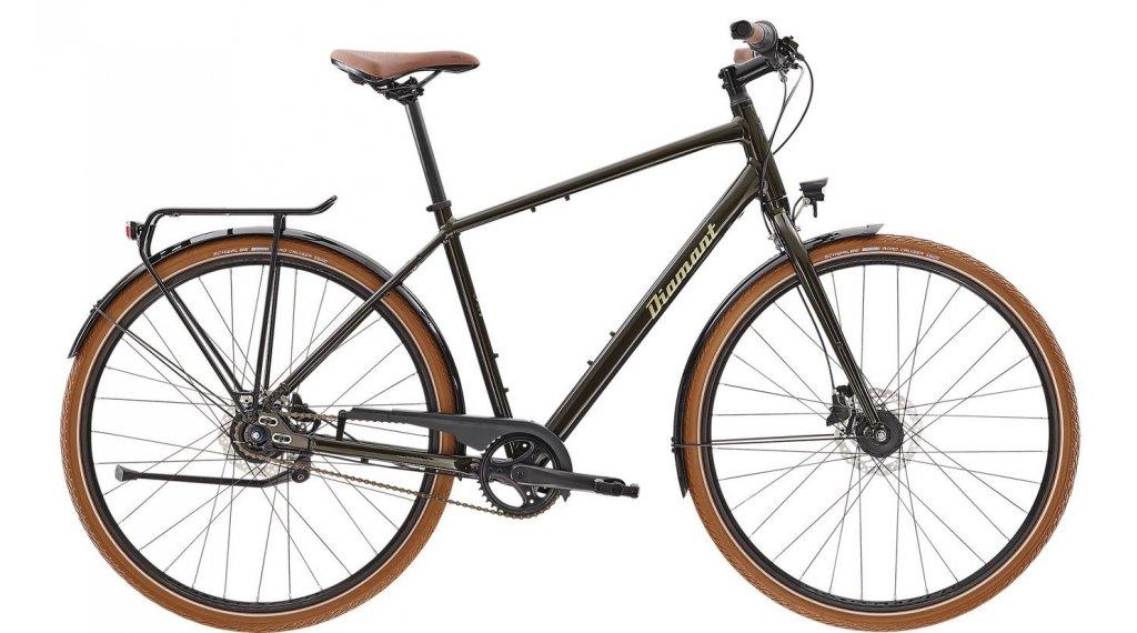"Diamant 885 HER 28"" City/Trekking bici completa tamaño L oxidgruen metallic Mod. 2021"