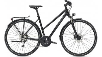 "Diamant Elan Sport 28"" trekking bike ladies size S tief black 2019"