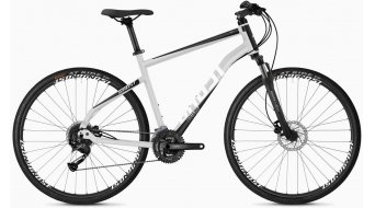 "Ghost Square Cross 1.8 AL U 28"" trekking vélo taille iridium argent/jet black/star white Mod. 2020"