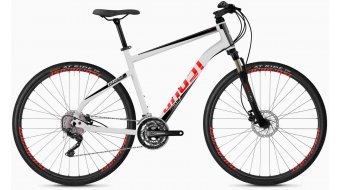 "Ghost Square Cross 2.8 AL U 28"" Trekking 整车 型号 star white/jet black/fiery red 款型 2020"