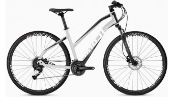 "Ghost Square Cross 1.8 AL W 28"" trekking bici completa da donna . iridium silver/jet black/star white mod. 2020"