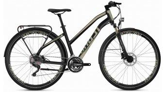"Ghost Square trekking 6.8 AL W 28"" trekking vélo femmes taille XS jet noir/ext or Mod. 2020"