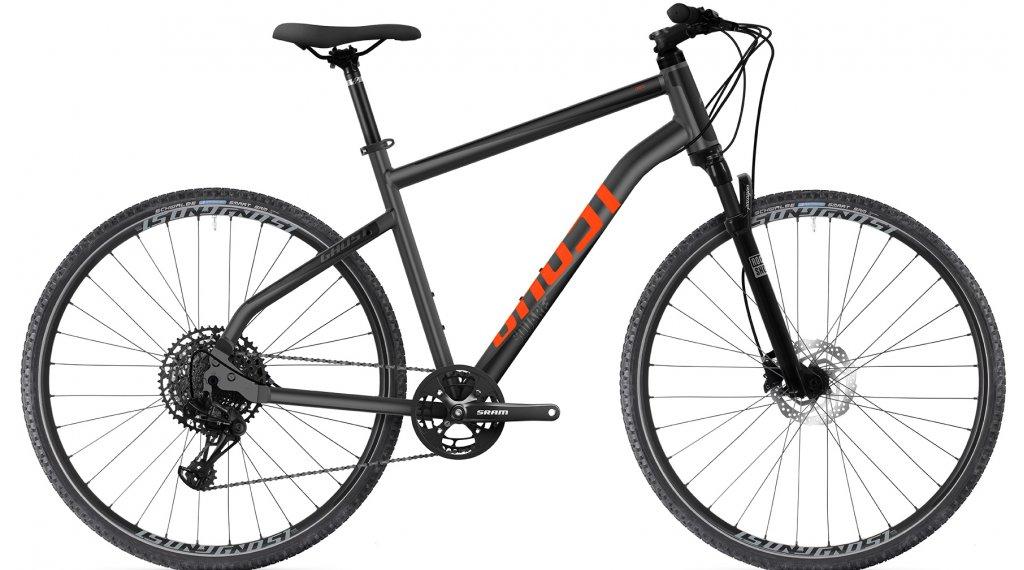 Ghost Square Cross Essential 28 Trekking bici completa tamaño M nightblack/jet negro Mod. 2021