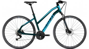 Ghost Square Cross Base 28 trekking bici completa da donna . nightblack/jet nero mod. 2021