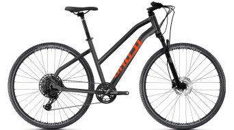 Ghost Square Cross Essential 28 trekking bici completa da donna . nightblack/jet nero mod. 2021