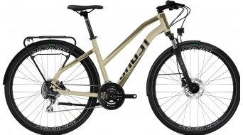 Ghost Square Trekking Base 28 Trekking bici completa Señoras dust/jet negro Mod. 2021