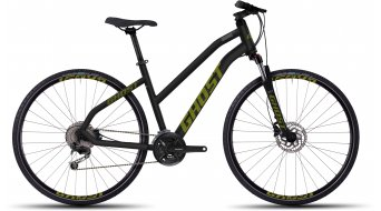 Ghost Square Cross 4 Fitnessbike Komplettbike Damen-Rad Gr. XL black/limegreen Mod. 2016