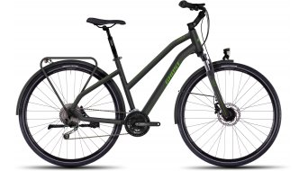 Ghost Square trekking 4 trekking bike bici completa da donna mis. XL black/green mod. 2016