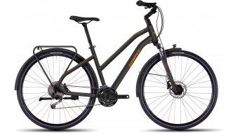 Ghost Square Trekking 5 Trekkingbike Komplettbike Damen-Rad black/orange Mod. 2016