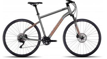Ghost Square Cross 7 AL Fitnessbike bici completa . urban gray/monarch arancione/black mod. 2017