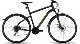 Ghost Square Cross X 3 AL Fitness bike bike size S black/riot green/urban gray 2017