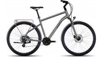 Ghost Square trekking 1 AL trekking bike bici completa . urban gray/black mod. 2017